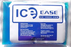 The Ice Ease Pack reduces swelling and offers muscle and joint pain relief